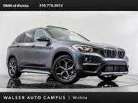 Scores 32 Highway MPG and 23 City MPG! This BMW X1