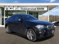 CARFAX One-Owner. Certified. 2018 BMW X6 xDrive50i