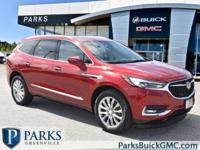 2018 Red Quartz Tintcoat Buick Enclave Certified. Clean