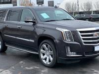 CARFAX One-Owner. Certified. Gray 2018 Cadillac