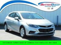 ** HATCHBACK CRUZE** BACK UP CAMERA W/ MYLINK STEREO**