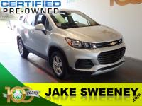 Check out our Accident Free 2018 Chevrolet Trax LS AWD