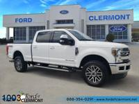 This 2018 Ford F-350SD Lariat in Oxford White features: