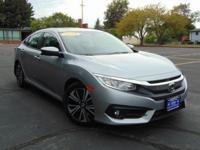 This Honda Civic EX-T is a great pre-owned car. Clean