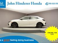 John Hinderer Honda is Pleased to present a 2018 Honda