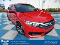 Rallye Red exterior and Black interior, EX trim. CARFAX