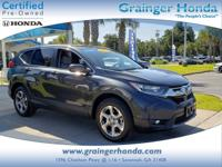 CARFAX 1-Owner, Honda Certified, GREAT MILES 8,369!