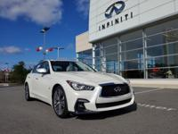INFINITI OF MACON IS OFFERING THIS 2018 INFINITI Q50