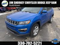 Certified. 2018 Jeep Compass Latitude 4WDCARFAX