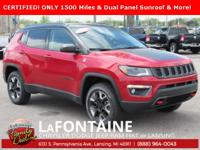 2018 Jeep Compass Trailhawk Redline Pearlcoat