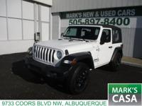 2018 Jeep Wrangler SportClean CARFAX. REAR BACKUP