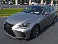 Silver 2018 Lexus IS 300 RWD 8-Speed Automatic with
