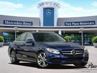 Grand and graceful, this 2018 Mercedes-Benz C-Class