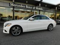 LOW miles for this BEAUTIFUL White C300 Sedan with ALL