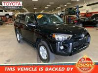 2018 Toyota 4Runner SR5 ***CERTIFIED TOYOTA, ***ONE