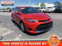 2018 Toyota Corolla LE ***CERTIFIED TOYOTA, ***ONE