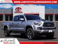 Certified. 2018 Toyota Tacoma TRD Sport V6 RWD 6-Speed