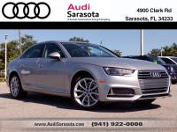 Audi Sarasota Courtesy Vehicle with Only 5,077