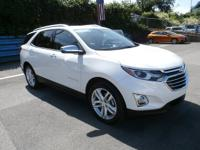 This is a clean Carfax, GM Certified Equinox Premier