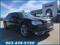 Clean CARFAX. Certified. Gloss Black 2019 Chrysler 300