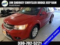 Certified. 2019 Dodge Journey SE FWDCARFAX One-Owner.