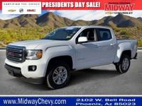 Clean CARFAX. Certified.Canyon GMC SLE1 Backup Camera,