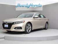 2019 Honda Accord EX Champagne Frost Pearl Clean