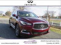 CARFAX One-Owner. Certified. Bordeaux 2019 INFINITI