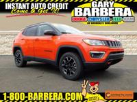 Check out our One Owner 2019 Jeep Compass Trailhawk 4X4