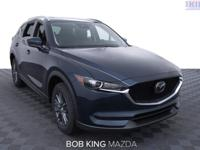 2019 Mazda CX-5 Touring Crystal BlueOdometer is 8212