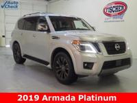 ** 2019 Armada Platinum ** Nissan Certified Preowned **