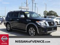 2019 Certified Nissan Armada SL with the Premium