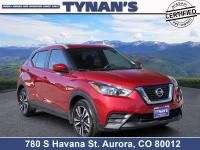 Our 2019 Nissan Kicks SV is agile and enthusiastic,