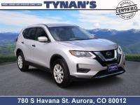 Our 2019 Nissan Rogue S AWD shown in Brilliant Silver