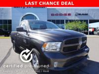Ram Certified, LOW MILES - 3,186! Granite Crystal Met.