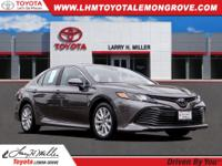 Certified. Predawn Gray Mica 2019 Toyota Camry LE FWD