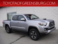 Certified. Silver Sky Metallic 2019 Toyota Tacoma TRD