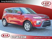 This Orange 2020 Kia Soul LX might be just the