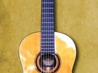Almost new 2014 Hauser PE Classical Guitar. This great