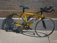 We have for sale a 51cm Cervelo, Dual tri bike. It was