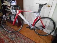 Cervelo P2 time trial / triathalon road bike, 56 cm all