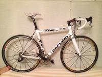Cervelo R3, 56cm frame, Sram Force group, Mavic Ksyrium