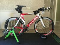 2009 Cervelo Triathlon Bike 54cm P2 for $2350.00. This