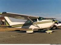This is a totally original low time Cessna 1975 4-seat