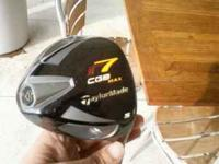 CGB R-7 5 WOOD TAYLORMADE IN GOOD SHAPE HAS A HEAD