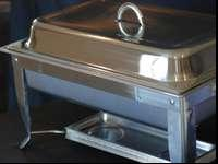 Great chafing dishes keep food warm when serving large
