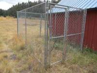 We have 14 chain link panels that could have