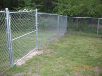 For Sale: Chain-Link Fencing: 303 feet total. Fence is