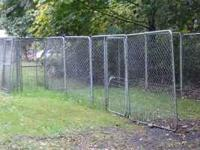 Posted are about 20 6x6 Chain Link Kennel Panels. 6