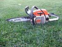 What I have is Stihl Chainsaw 028 For More Info Call
